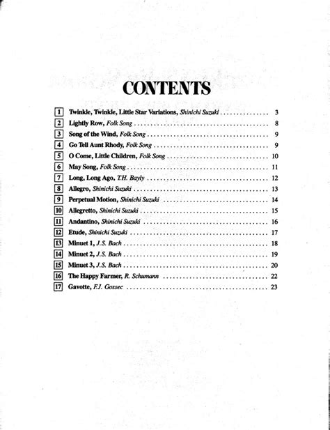 Suzuki Book 1 Songs 7 Best Images About Sheet And Accompaniments On
