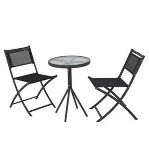 Asda Bistro Table Cuba Balcony And Bistro Set From Asda Direct Garden Furniture Housetohome Co Uk