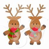 Rudolph the Red Nosed Reindeer - Creative Clipart Collection