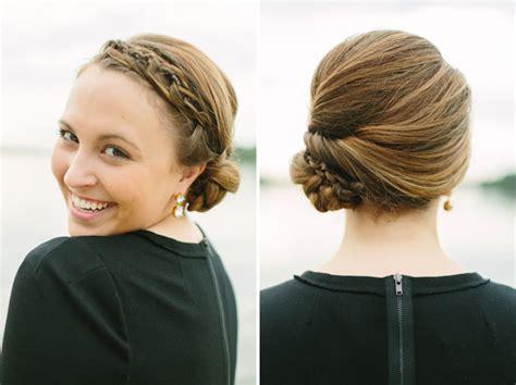 elegant updo hairstyles for medium length hair elegant hairstyles braided updo for medium length hair