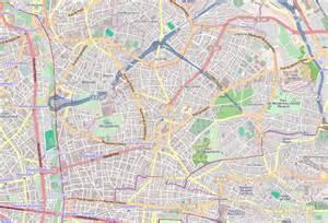Carte et plan de montreuil 93100 htel tourisme locations de