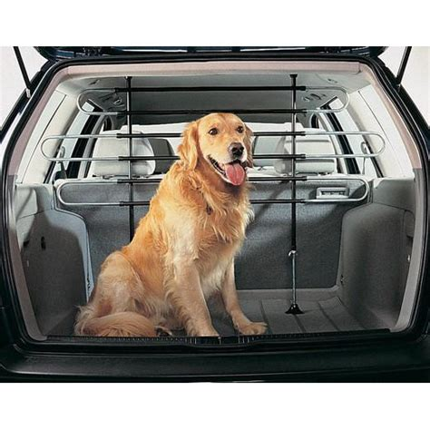 how to a puppy to be a guard deluxe large high pet guard barrier grill for car 4x4 estate mpv boot ebay