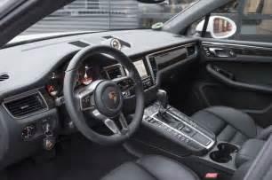 Porsche Macan Interior Porsche Macan Interior Speed