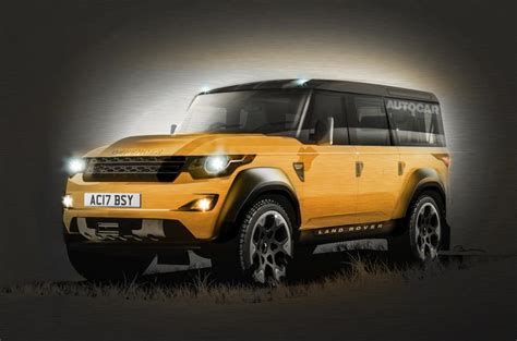 range rover defender 2018 land rover defender to launch in 2018 autocar