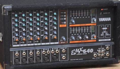 Power Mixer Yamaha Emx yamaha emx 640 6 channel powered mixer 2 yamaha speakers for sale in ballymahon longford from
