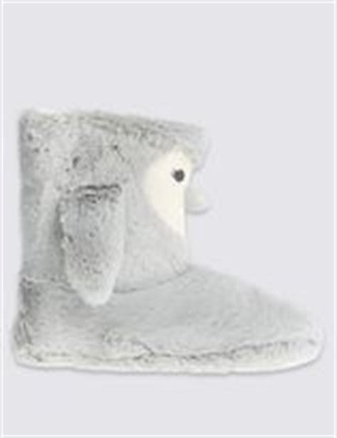slipper boots marks and spencer slipper boots shopstyle