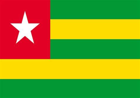 Togo Mini 22cm drapeau togo acheter drapeau togolais pas cher m des