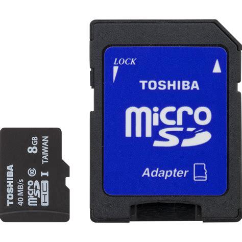 toshiba 8gb uhs i microsdhc memory card class 10 pfm008u