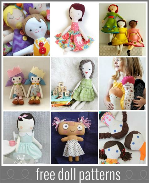doll patterns free six weeks of for softies at sew sew