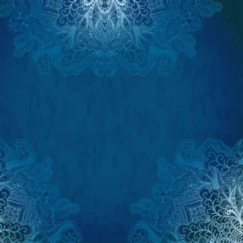 blue pattern vintage background free vintage blue florals pattern background vector 03