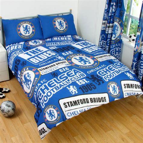 Original Chelsea Bed Cover King Set chelsea fc patch panel duvet cover set characterlinens