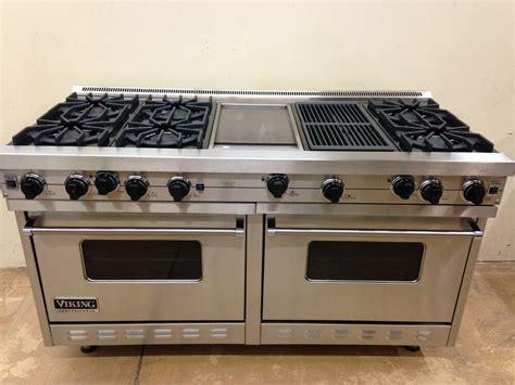 60 inch gas cooktop viking 60 quot range vgrc605 6gqdss gas 6 burners professional