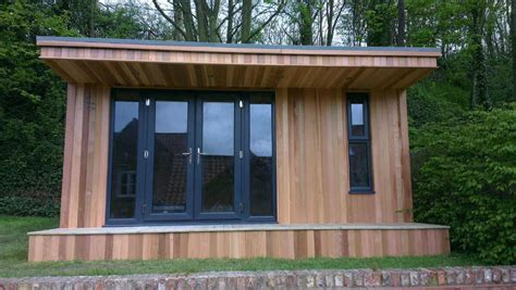 Luxury Contemporary Garden Rooms & Offices UK Modern