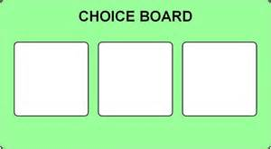 choice board template best photos of autism choice board sles free pecs