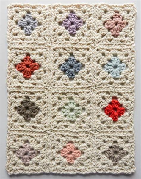 vintage afghan pattern vintage floral granny square afghan