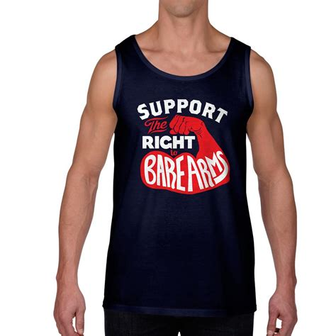 top right or right top the right to bare arms tank top liberty maniacs