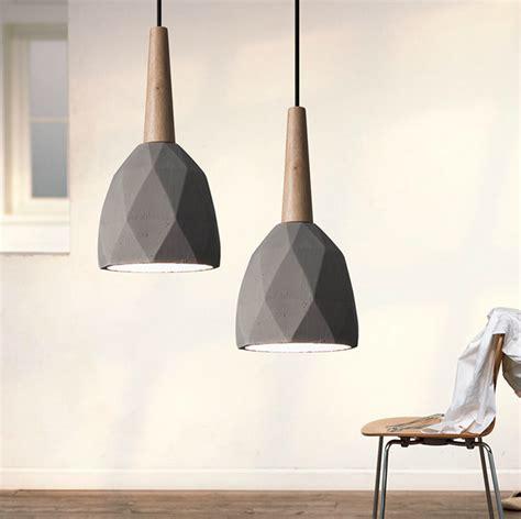 Designer Island Lighting Modern Designer Ceiling L Wood Cement Kitchen Island Pendant Lighti Premium Retailer