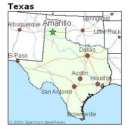 where is amarillo on the map best places to live in amarillo