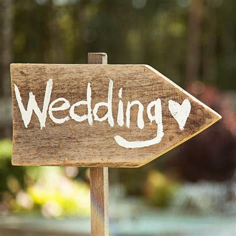 Eheringe Zeichen by Wedding Signs Hitched Co Uk