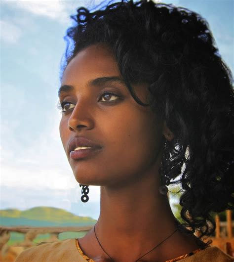 ethiopian hair secrets ethiopian model emuye egyptian faces pinterest