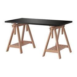 planche de bureau ikea syst 233 m stolů kombinace nohy a podstavce ikea