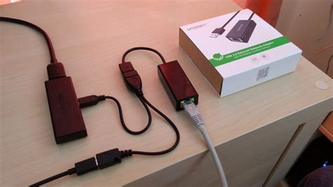 Usb Tv Stick wired ethernet adapter on a tv stick