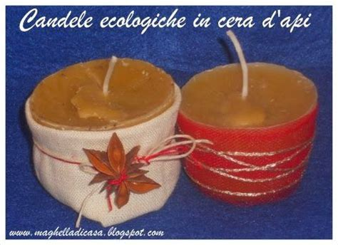candele ecologiche candele ecologiche in cera d api fai da te lavoretti
