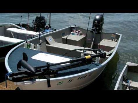 scow vs jon boat 14ft modified jon boat youtube