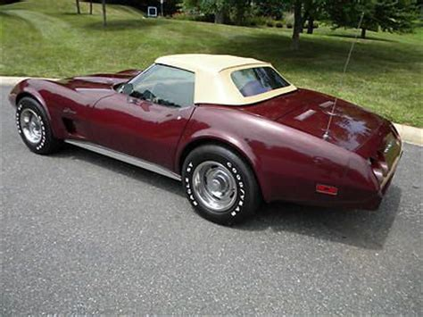 sell used 1975 chevy corvette sport coupe l82 4 speed in coldwater ohio united states find used 1975 corvette convertible l82 4 spd mint 100 pics fresh restoration 1974 in