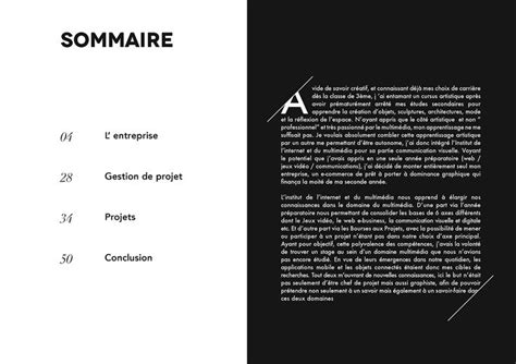 layout of internship report 13 best rapport de stage images on pinterest page layout