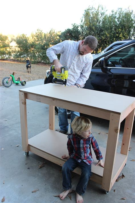 work bench for kids easy portable workbench plans portable workbench