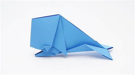 Origami Jo Nakashima - origami whale jo nakashima my crafts and diy projects