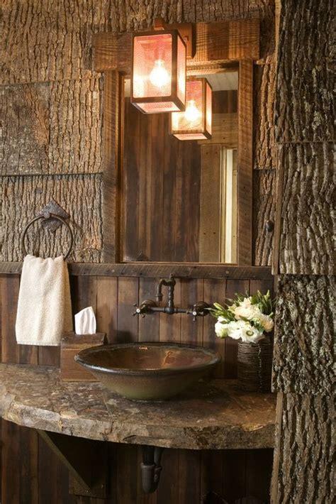 cabin themed bathroom top 25 best cabin bathrooms ideas on pinterest country