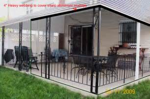 Patio Netting Awning Screens And Custom Made Diy Awning Screen Kits