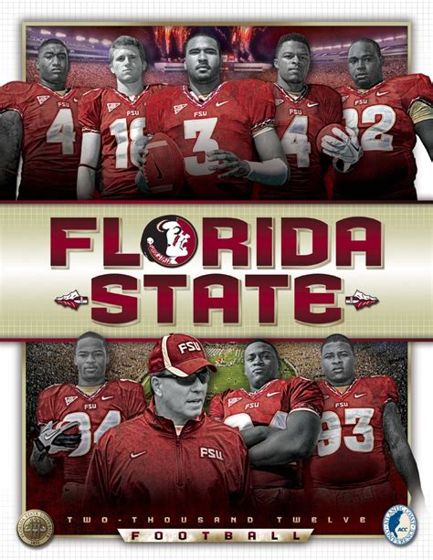c in florida a handbook for sportsmen and settlers classic reprint books 2012 florida state football media guide by florida state