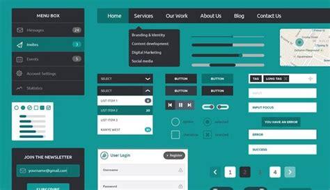 wpf ui templates free flat gui templates 187 25 best free flat style ui