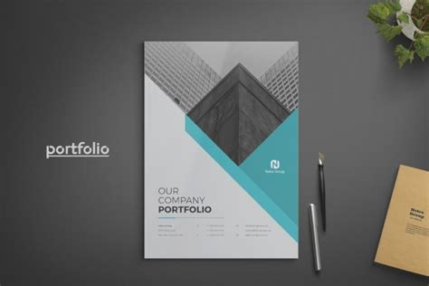 company portfolio templates  indesign ai
