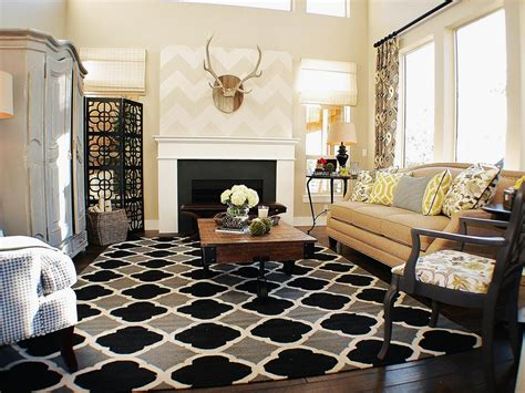 contemporary living room rugs photos hgtv
