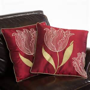 best selling home decor 18 in tulip pillows set of 2