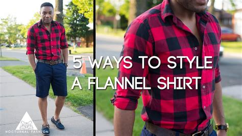 Flanel Dress Blue 1 5 ways to style a flannel shirt by nocturnal fashion