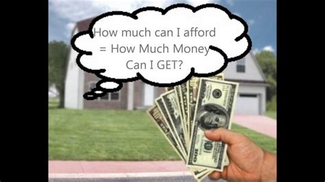 how much house can i afford with a va loan how much home can i afford or how much mortgage will somebody lend me youtube