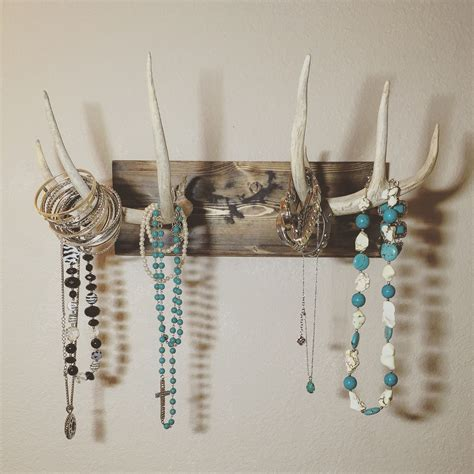 how to make antler jewelry mounted antler jewelry holder real deer by turquoiseowldesign