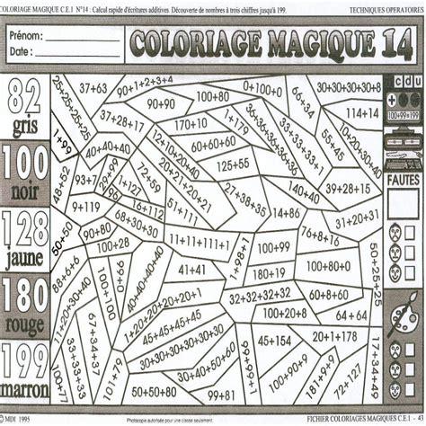 Dessin 195 Colorier Magique Pour Fille Ce1 Dans Coloriage