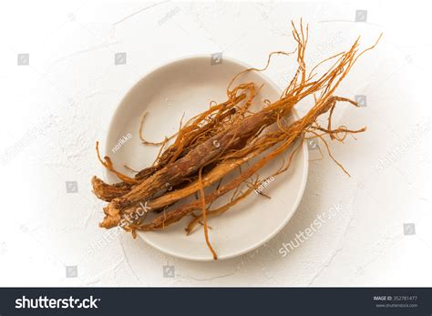 Ginseng China ginseng health food stock photo 352781477