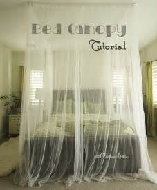 How To Use Canopy by How To Make A Ceiling Bed Canopy Tutorial