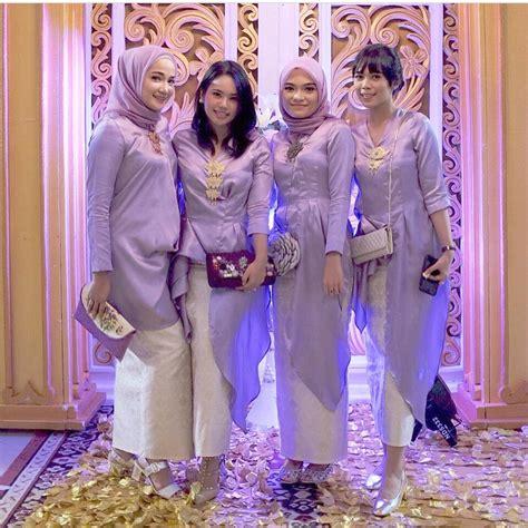 Harga Baju Pesta Untuk Ibu Berjilbab by 17 Model Kebaya Masa Kini Untuk Pesta Dan Wisuda Simple Cantik