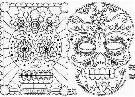 imagenes para colorear ofrendas dia muertos calaveras y catricas para colorear 1 imagenes educativas