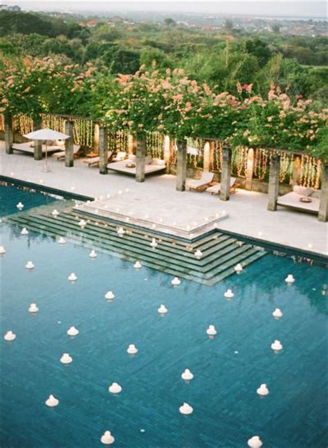 Sale Mukena Bali Laras 17 best images about poolside wedding on floating candles pool candles and backyard