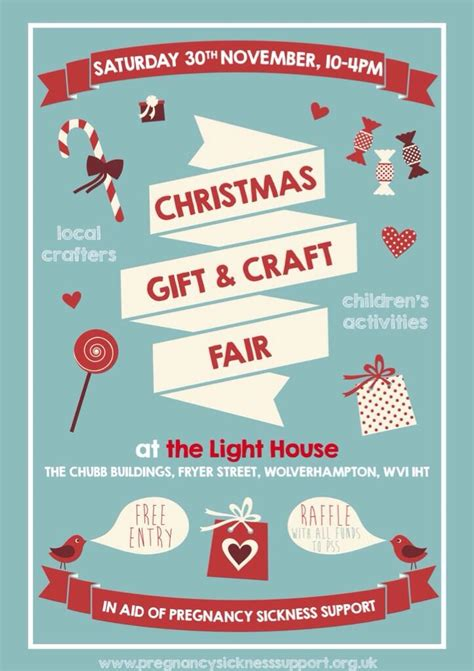 Christmas Gift Craft Fair Poster Art Worth Watching Pinterest Gift Crafts Craft Fairs Craft Fair Flyer Template
