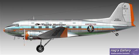 Douglas Sleeper Transport by Dst Aa